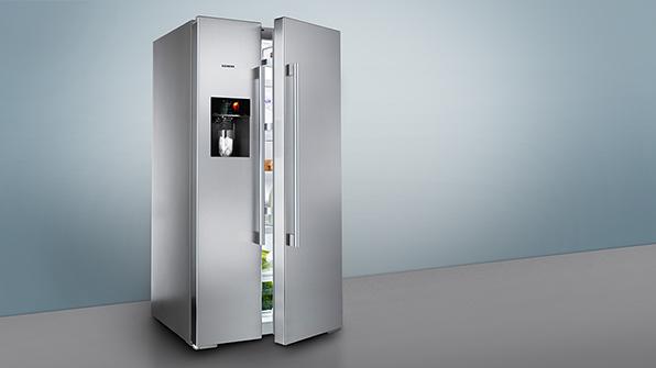 Side By Side Kühlschrank Siemens : Side by side kühlschrank siemens edelstahl side by side siemens